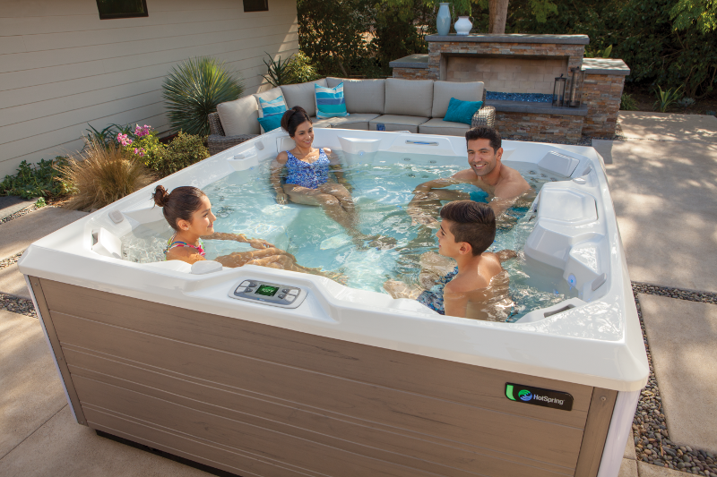 Hot Spring Limelight Pulse Valuable Family Time Well Spent. | HotSpring Spas